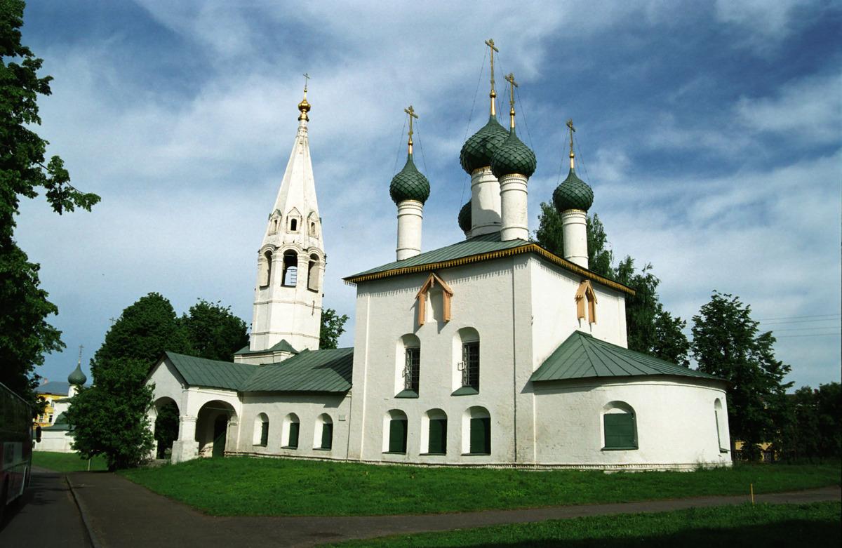Церковь Николы Рубленый Город в Ярославле фотографии