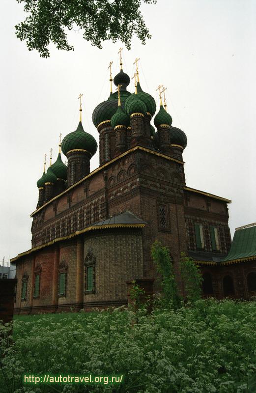 Фотография Церковь Иоанна Предтечи (Ярославль (Ярославская область))