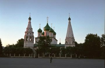 Ярославль (Ярославская область): Достопримечательность Церковь Ильи Пророка