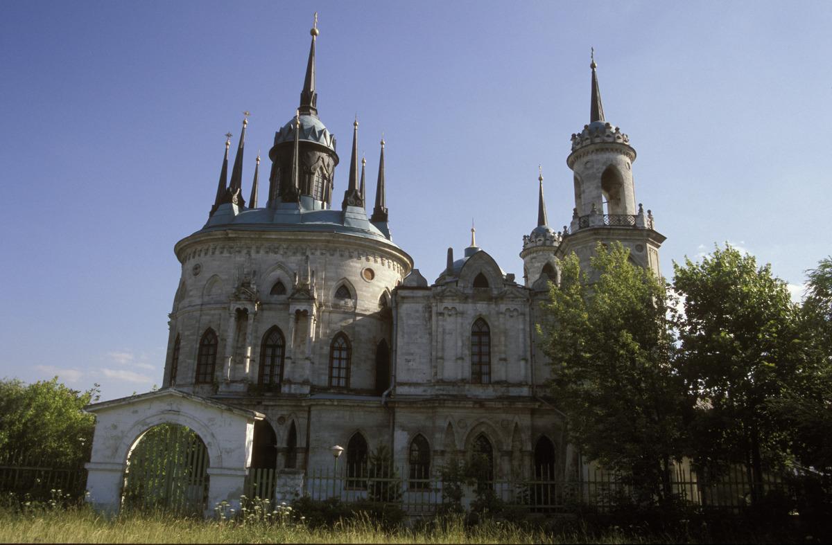 Церковь владимирской иконы божией матери в быково - жуковский россия - подмосковье