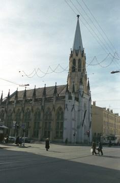 Санкт-Петербург (Ленинградская область): Достопримечательность Лютеранская церковь Святого Михаила