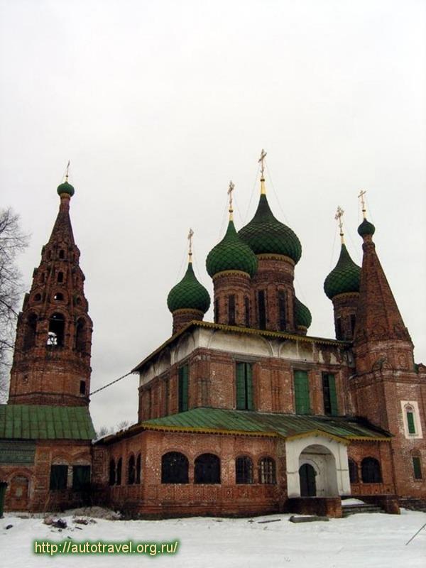 Храм Николы Мокрого в Ярославле фотографии