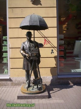Санкт-Петербург (Ленинградская область): Достопримечательность Городская скульптура
