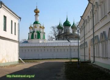 Ярославль (Ярославская область): Достопримечательность Толгский Свято-Введенский монастырь