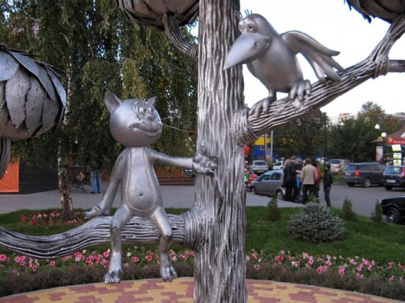 Мультфильм кот на улице лизюкова воронеж