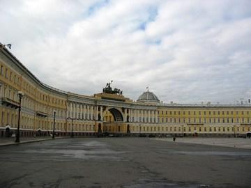 Санкт-Петербург (Ленинградская область): Достопримечательность Дворцовая площадь