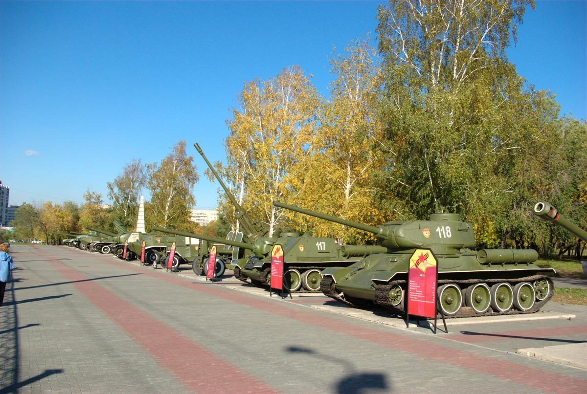 Фотография сад победы челябинск