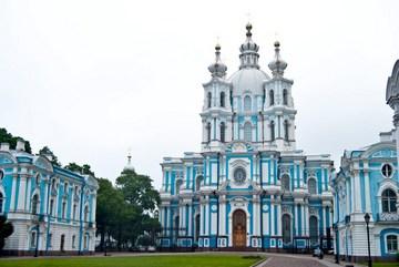 Санкт-Петербург (Ленинградская область): Достопримечательность Смольный монастырь