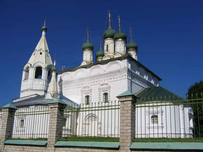 Церковь Спаса Преображения в Спасской слободе фотографии