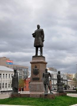 Саратов (Саратовская область): Достопримечательность Памятник П.А.Столыпину