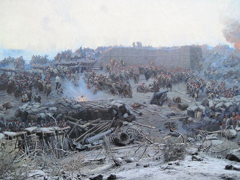 Панорама оборона севастополя 1854 1855