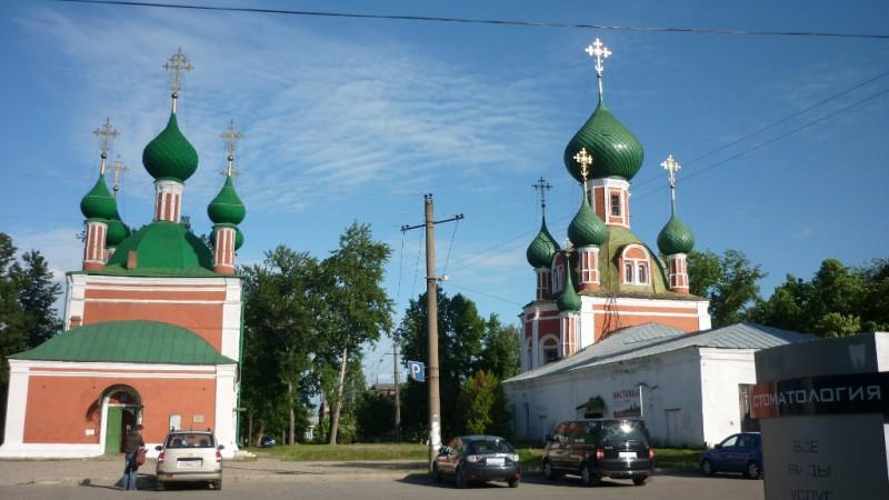 Фотография Ансамбль Владимирского собора и церкви Александра Невского (Переславль-Залесский (Ярославская область))