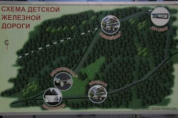 Ярославль (Ярославская область): Достопримечательность Детская железная дорога