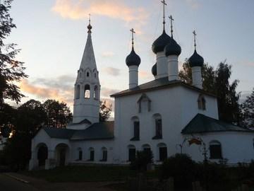 Ярославль (Ярославская область): Достопримечательность Церковь Николы Рубленый Город