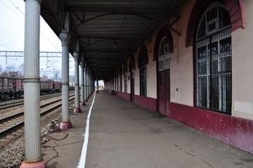 Фотография Железнодорожный вокзал (Клин (Московская область)) .