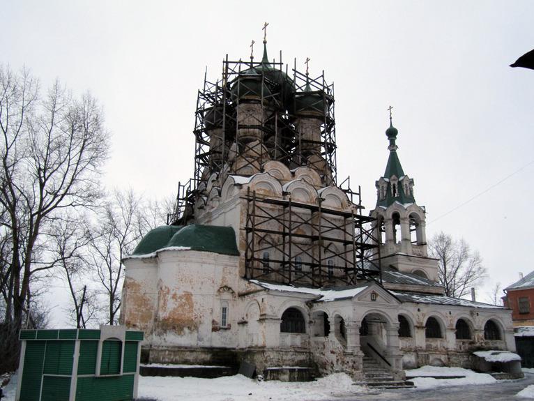 Богородице-Успенская (Богородицкая) церковь во Владимире фото