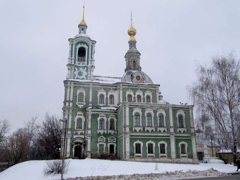 Никитская церковь во Владимире фото