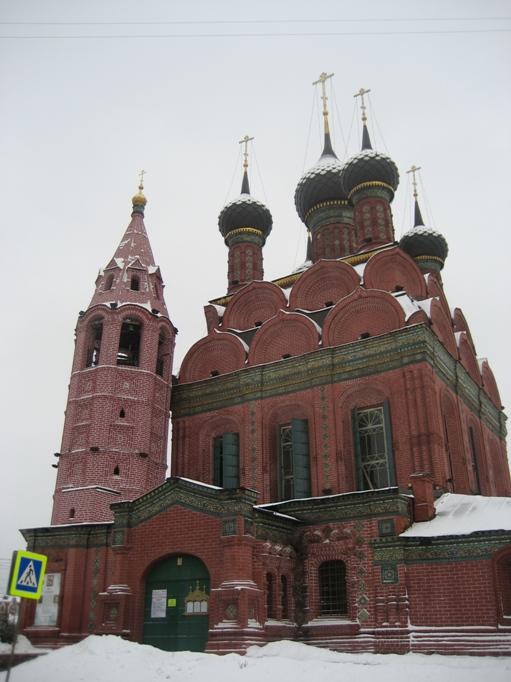Церковь Богоявления в Ярославле фотографии