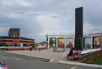 Саранск (Республика Мордовия): Достопримечательность Мемориальный музей военного и трудового подвига 1941-1945 гг.