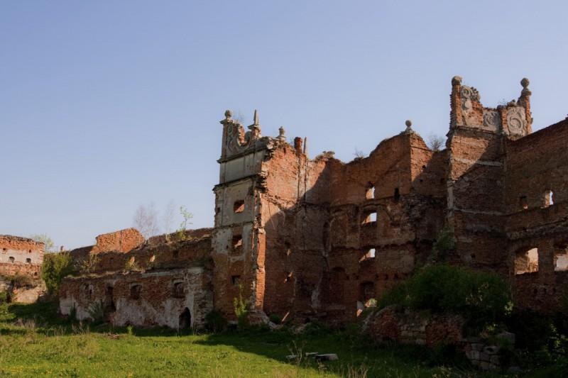 Замок Острожских (Старое Село - Украина)