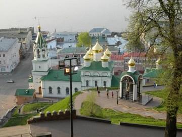 Нижний Новгород (Нижегородская область): Достопримечательность Церковь Рождества Иоанна Предтечи