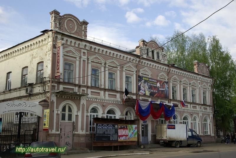 Фотография архитектура воткинска