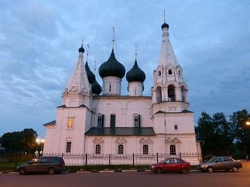 Ярославль (Ярославская область): Достопримечательность Церковь Спаса на Городу