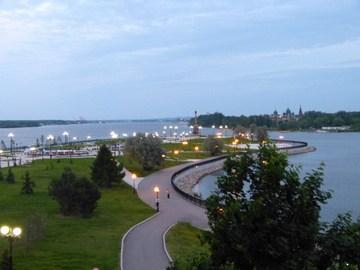 Ярославль (Ярославская область): Достопримечательность Парк и памятник 1000-летию Ярославля