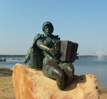 Солнечногорск (Московская область): Достопримечательность Памятник русалке