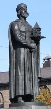 Ярославль (Ярославская область): Достопримечательность Памятник Ярославу Мудрому