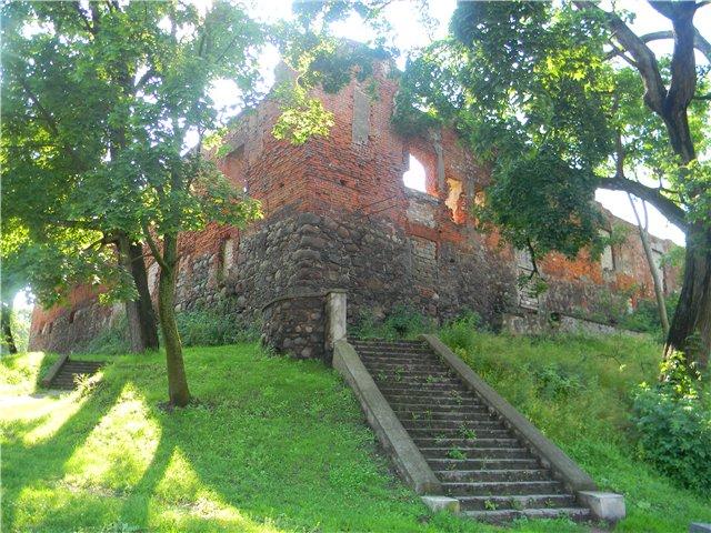 Фотография замок инстербург