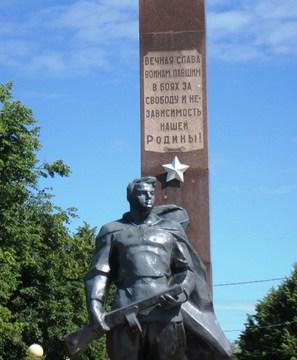 Зарайск (Московская область): Достопримечательность Военно-патриотические памятники Зарайска