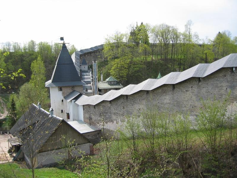 Монастырь печоры псковская область