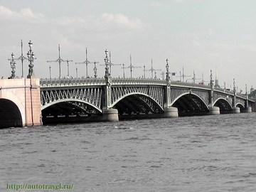 Санкт-Петербург (Ленинградская область): Достопримечательность Мосты Санкт-Петербурга