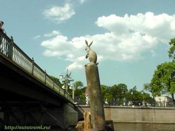 Санкт-Петербург (Ленинградская область): Достопримечательность Памятник зайцу