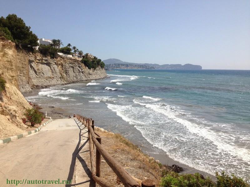 Г кальпе испания фото пляжей