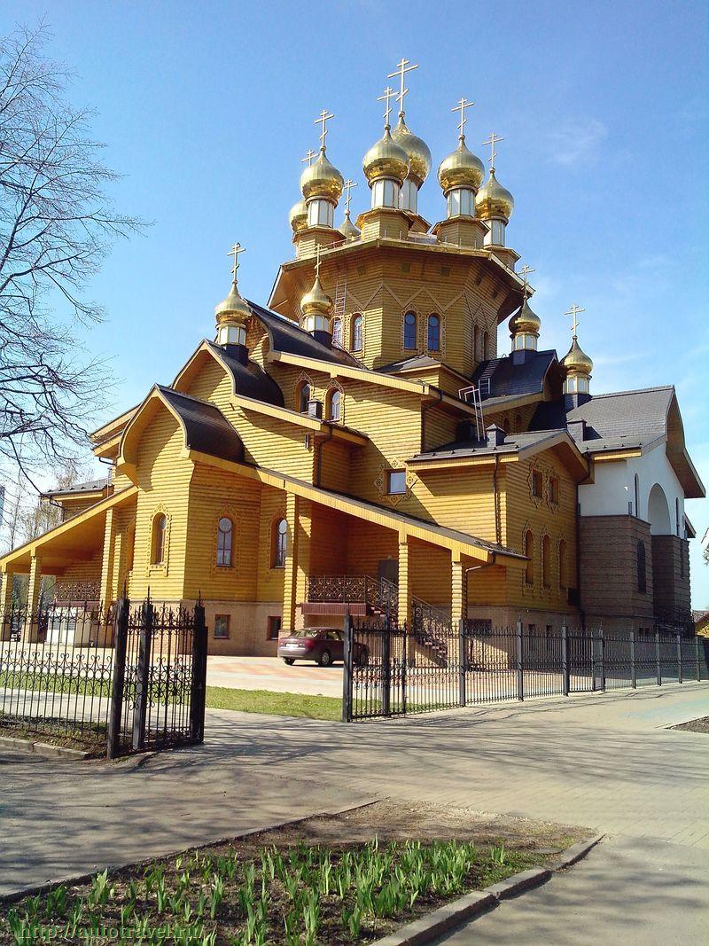 Храм георгия победоносца белгород