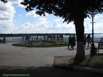 Ярославль (Ярославская область): Достопримечательность Волжская набережная