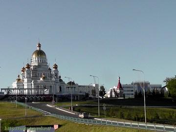 Саранск (Республика Мордовия): Достопримечательность Собор Святого Праведного Воина Федора Ушакова