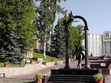 Саранск (Республика Мордовия): Достопримечательность Фонтанный спуск