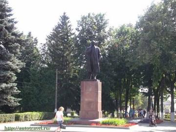 Зарайск (Московская область): Достопримечательность Памятник В.И. Ленину