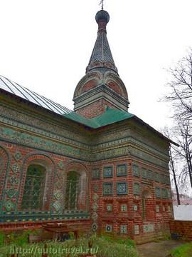 Ярославль (Ярославская область): Достопримечательность Храм Николы Мокрого