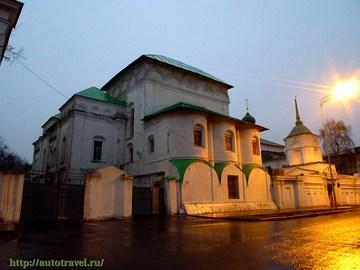 Ярославль (Ярославская область): Достопримечательность Кирилло-Афанасьевский монастырь