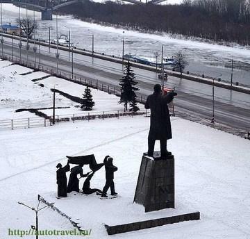 Нижний Новгород (Нижегородская область): Достопримечательность Площадь Ленина