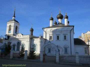 Саранск (Республика Мордовия): Достопримечательность Иоанно-Богословская церковь