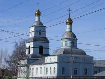 Саранск (Республика Мордовия): Достопримечательность Предтеченская церковь