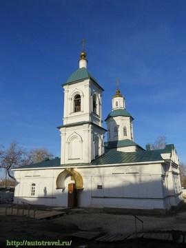 Саранск (Республика Мордовия): Достопримечательность Троицкая церковь