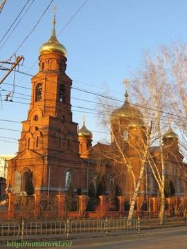 Саранск (Республика Мордовия): Достопримечательность Никольская церковь