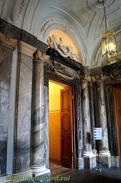 Санкт-Петербург (Ленинградская область): Достопримечательность Мраморный дворец