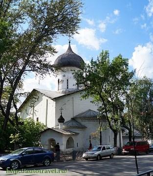 Псков (Псковская область): Достопримечательность Церковь Святителя Николая со Усохи